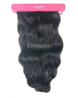 Raw Indian Temple Wavy Hair Extensions After Co-Wash