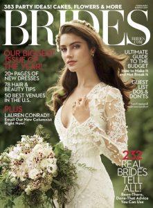 Brides USA Magazine - February March 2017 - Cover