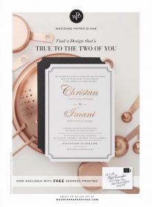 Brides USA Magazine - February March 2017 - Chef Christan Willis Invite